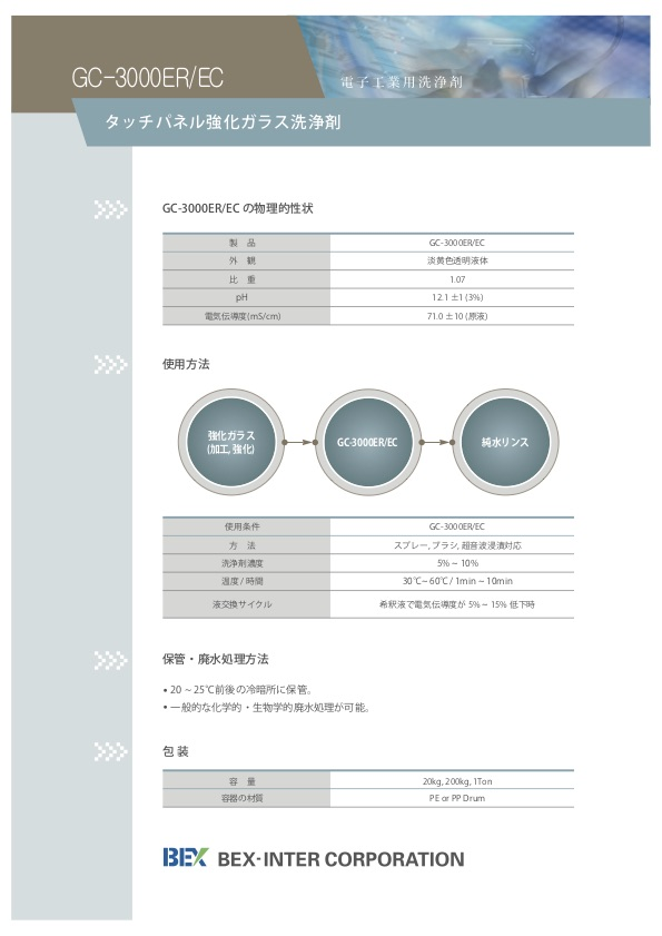 GC-3000ER/EC パンフレット裏